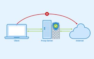 Proxy-Server - Autor: Seobility - Lizenz: CC BY-SA 4.0