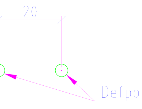 CAD best practice: Layer Defpoints – «Finger ab de Röschti»